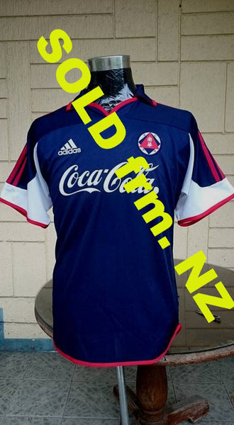 HONGKONG PREMIER LEAGUE SOUTH CHINA A.A. FC VINTAGE 1990's HOME JERSEY ADIDAS SHIRT SOLD !!! - vintage soccer jersey