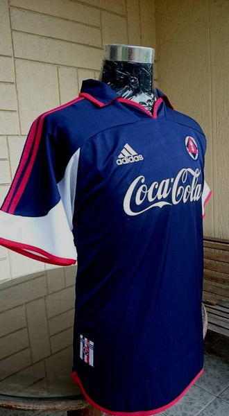 HONGKONG PREMIER LEAGUE SOUTH CHINA A.A. FC VINTAGE 1990 s HOME JERSEY  ADIDAS SHIRT SOLD ! 3a98b71cf