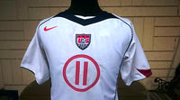 USA 2004-2005 CONCACAF GOLD CUP CHAMPION FREDDY ADU NO 11  HOME JERSEY NIKE SHIRT CAMISETA  SOLD!!! - vintage soccer jersey