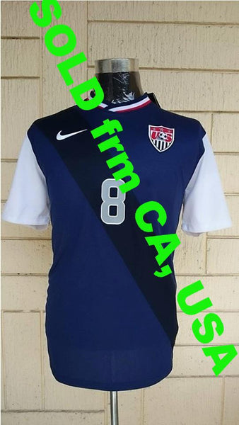 USA 2012-2013 AWAY CAPTAIN DEMPSEY NO 8 JERSEY NIKE SHIRT CAMISETA SOLD !!! - vintage soccer jersey
