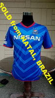 JAPAN J-LEAGUE YOKOHAMA F. MARINOS 2011 EMPEROR'S CUP SEMI-FINALS  JERSEY ADIDAS SHIRT MEDIUM  ジャージーシャツ  SOLD!!! - vintage soccer jersey