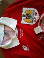 ENGLISH PREMIER BRISTOL CITY 1996-97 CENTENARY HOME JERSEY LOTTO SHIRT  SOLD !!! - vintage soccer jersey