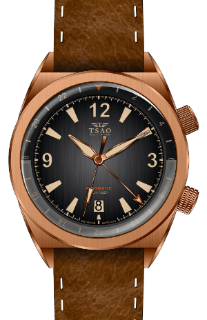 LEGACY BRONZE GMT - MIDNIGHT GREY