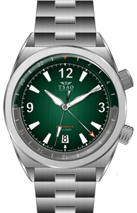LEGACY STEEL GMT - GREEN FUME