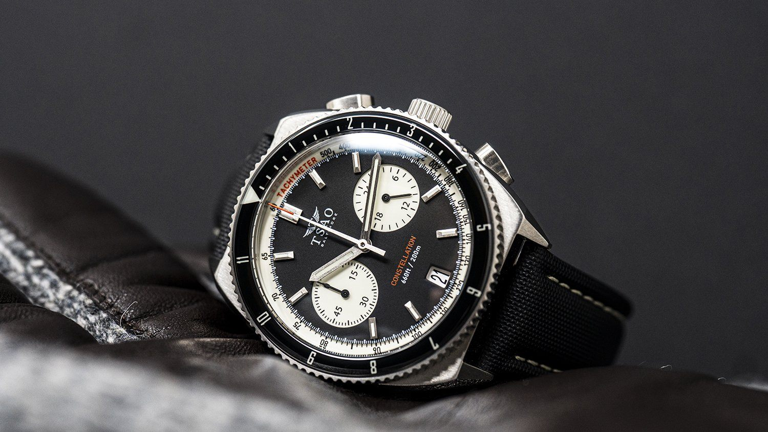 Constellation Chrono-Diver - Reverse Panda