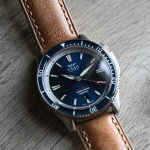 STEEL TORSK-DIVER - MIDNIGHT BLUE