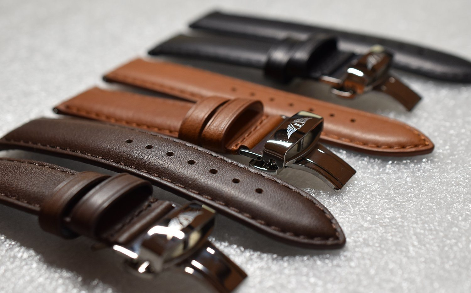Brown Aged Leather Band