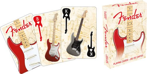 Aquarius Fender Stratocaster Playing Cards Playing Cards