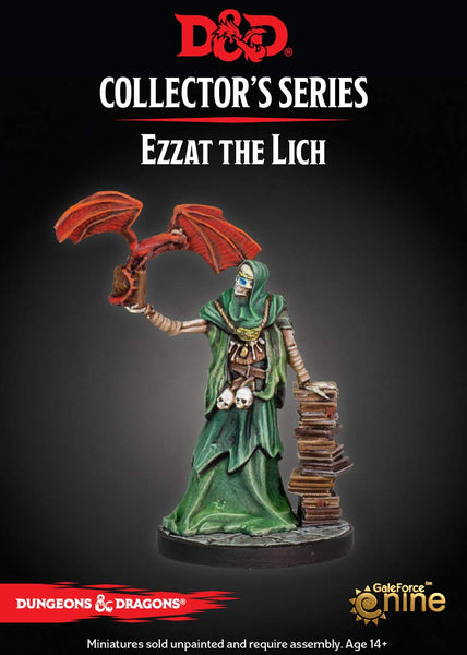 Dungeons & Dragons - Dungeon of The Mad Mage Ezzat The Lich (1 Fig)