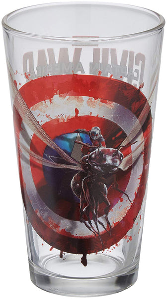 Captain America: Civil War Ant Man Toon Tumbler Pint Glass