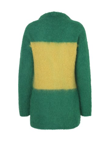 BOLD MOHAIR BOUTIQUE CRANNY GREEN/YELLOW