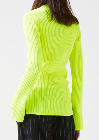 HOPE, REED TURTLENECK, YELLOW