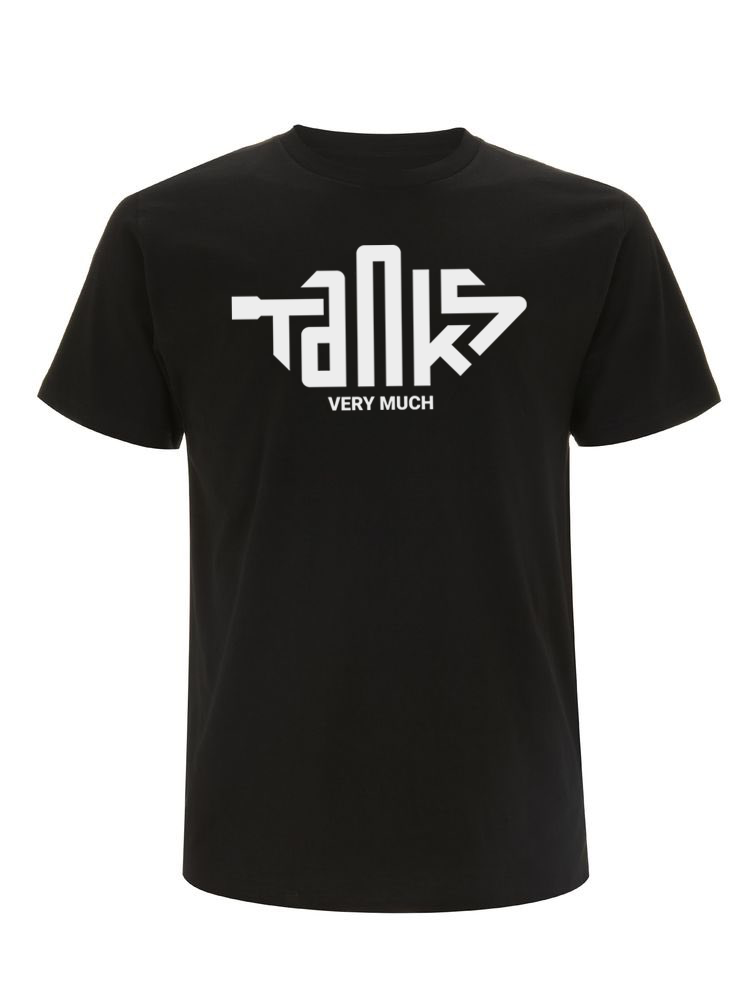 "Limited Edition ""TANKS"" Tee Black"