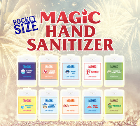 Pocket Size Magic Hand Sanitizer