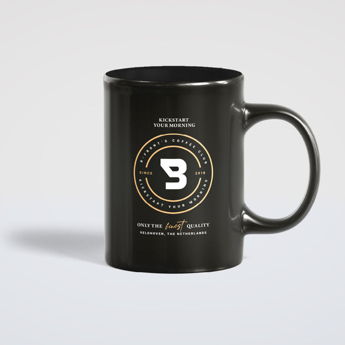 B-Front's Coffee Club 'Kickstart Your Morning' mug (Pre-order)
