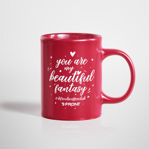 B-Front's Coffee Club Valentine's mug