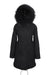 Faux Black on Black Darling Parka