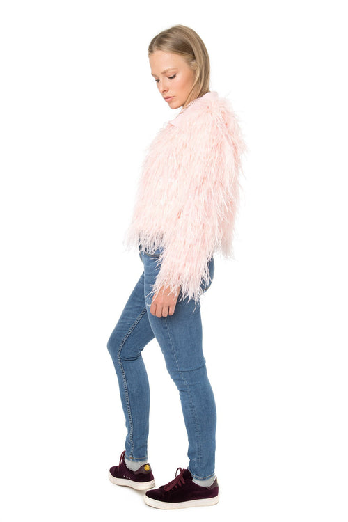 Luxury Feather Jacket