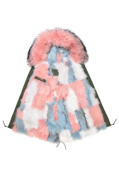 Pink Patch Darling Parka, Jane and Tash 01