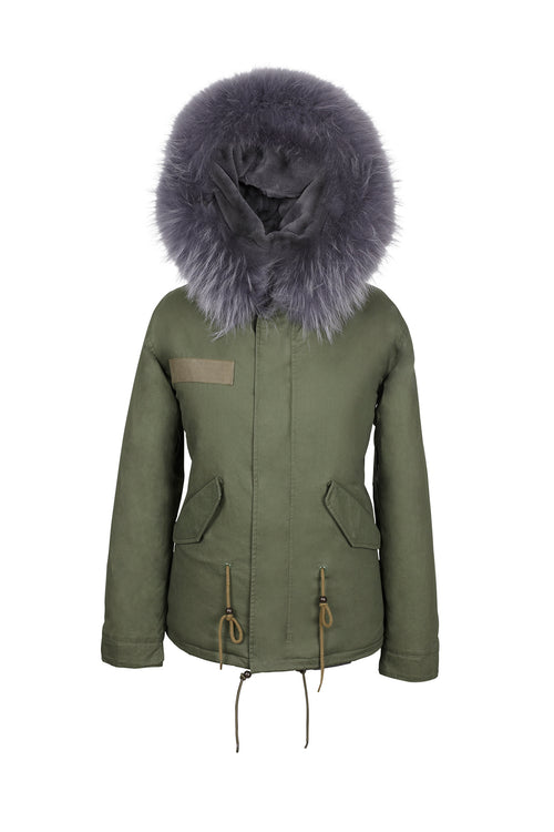 Purple Dove Grace Parka, Jane and Tash 01