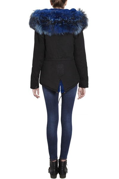 Jane and Tash, Wild Blue Black Grace Parka 02