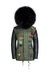 Leather Army Badges Grace Parka