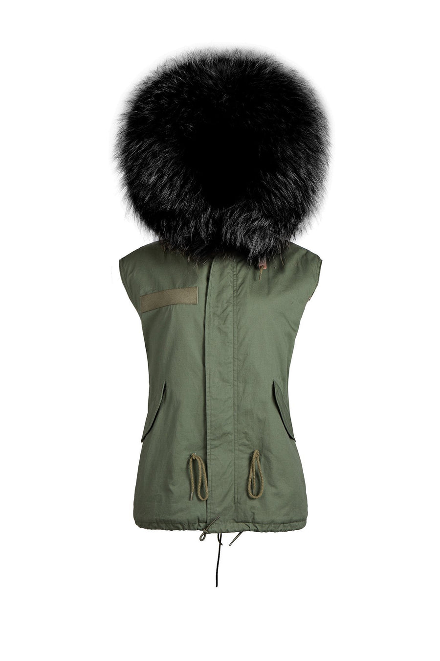 Green and Black Gilet