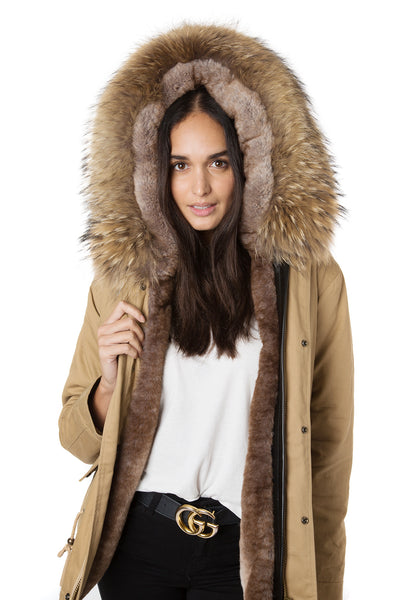 Natural Camel Grace Parka