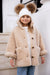 Childrens Cream Teddy Coat