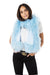 Wrap me up Cashmere Lambswool Scarf Baby Blue