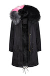 Liquorice All Sorts Black Darling Parka