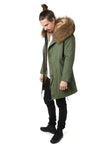 Faux Men's Natural Darling Parka