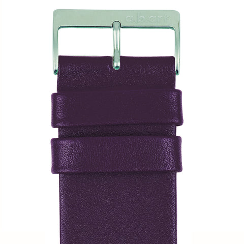 Leather strap violet 1.12 size M