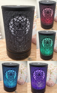 Owl Dream Catcher Ultra Sonic Diffuser