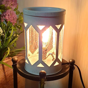 White Edison Bulb Illumination Melt/Oil Burner