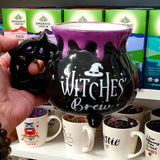 Witches Brew Cauldron 3D Mug