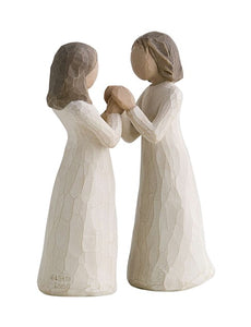 Willow Tree Figurine - Sisters By Heart