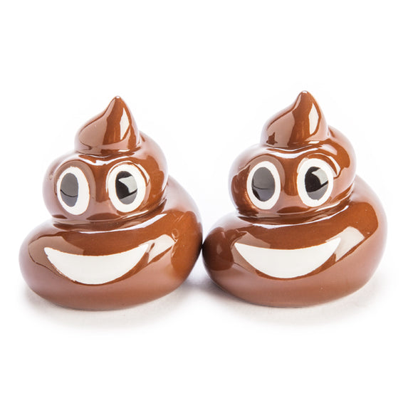 Smiling Poo Salt & Pepper Set