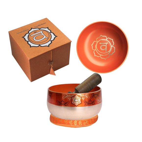 Singing Bowl - Orange Sacral Chakra 12.5cm