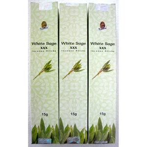 Kamini White Sage XXX Incense Sticks 15gms