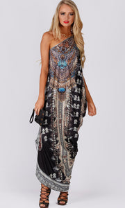ONE SHOULDER KAFTAN