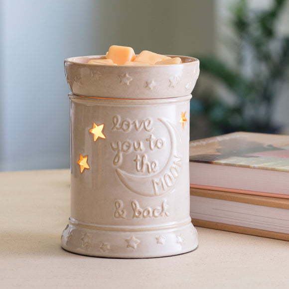 Love you to the Moon Illumination Warmer Melt/Oil Burner