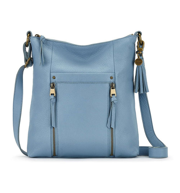 The Sak - Ladera - Leather Crossbody - Arctic Blue