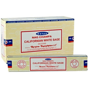 Satya Californian White Sage Incense 15gms