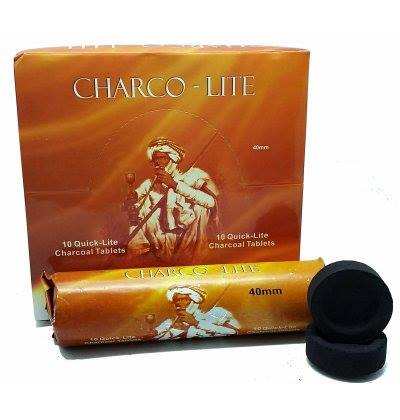 Charco-Lite 40mm Quick Lite Charcoal