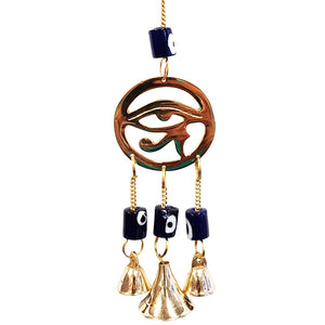 Eye of Horus Brass Bell Chime