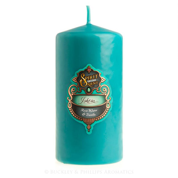 ISHTAR PILLAR CANDLE MEDIUM
