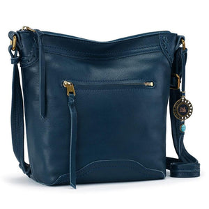 The Sak - Tahoe Leather - Crossbody Bag - Peacock