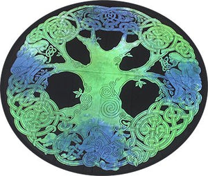 Round Tapestry - Celtic Tree
