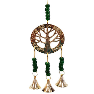 Tree of Life Brass Bell Chimes
